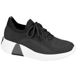 Tênis Meia para Esporão e Fascite - Preto - MO7354-100PT - Pé Relax Sapatos Confortáveis