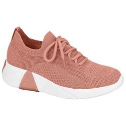 Tênis Meia para Esporão e Fascite - Light Blush - MO7354-100LB - Pé Relax Sapatos Confortáveis