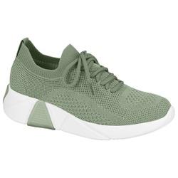 Tênis Meia para Esporão e Fascite - Verde Aguá - MO7354100VA - Pé Relax Sapatos Confortáveis