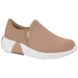 Tênis para Esporão e Fascite - Bege - MO7354-101NU - Pé Relax Sapatos Confortáveis