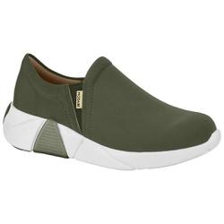Tênis para Esporão e Fascite - Verde Militar - MO7354-101VM - Pé Relax Sapatos Confortáveis