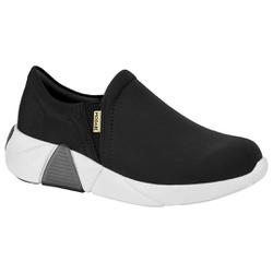 Tênis para Esporão e Fascite - Preto - MO7354-101PT - Pé Relax Sapatos Confortáveis