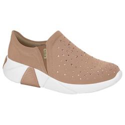 Tênis para Esporão e Fascite com Strass - Rose - MO7354102ND - Pé Relax Sapatos Confortáveis