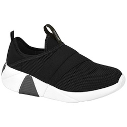 Tênis Meia para Esporão e Fascite - Preto - MO7354-105PT - Pé Relax Sapatos Confortáveis