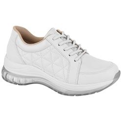 Tênis para Esporão e Fascite c/ Cápsula de Ar - Branco - MO7355-105BR - Pé Relax Sapatos Confortáveis