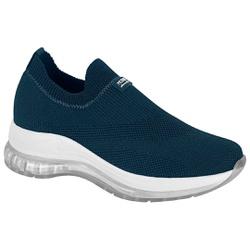 Tênis para Esporão e Fascite c/ Cápsula de Ar - Azul - MO7355-112AZ - Pé Relax Sapatos Confortáveis