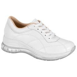 Tênis para Esporão e Fascite c/ Cápsula de Ar - Branco - MO7355-111BR - Pé Relax Sapatos Confortáveis