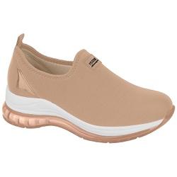 Tênis para Esporão e Fascite c/ Cápsula de Ar - Bege - MO7355-101BE - Pé Relax Sapatos Confortáveis