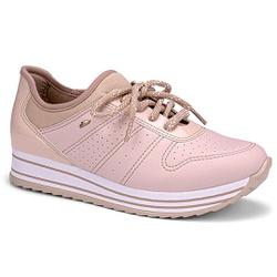 Tênis Feminino Confortável - Rosado - DAG2991-0005RO - Pé Relax Sapatos Confortáveis