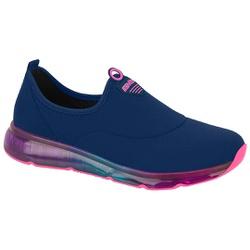 Tênis para Joanete e Esporão c/ Cápsula de Ar - Azul / Sola Colors - ACT4215-604AZCO - Pé Relax Sapatos Confortáveis