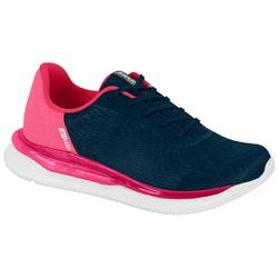 Tênis para Caminhada, Esporão e Fascite Plantar - Azul - ACT4820-101AZ - Pé Relax Sapatos Confortáveis