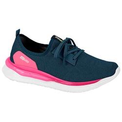 Tênis para Caminhada, Esporão e Fascite Plantar - Marinho - ACT4820-100AZ - Pé Relax Sapatos Confortáveis