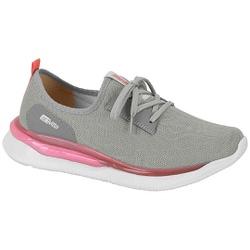 Tênis para Caminhada, Esporão e Fascite Plantar - Cinza - ACT4820-100CZ - Pé Relax Sapatos Confortáveis