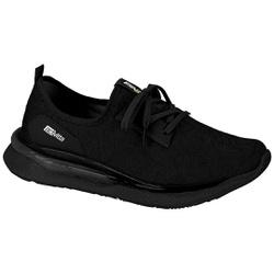 Tênis para Caminhada, Esporão e Fascite Plantar - Preto - ACT4820-100PT - Pé Relax Sapatos Confortáveis