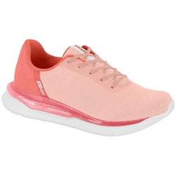 Tênis para Caminhada, Esporão e Fascite Plantar - Rosa - ACT4820-101RO - Pé Relax Sapatos Confortáveis