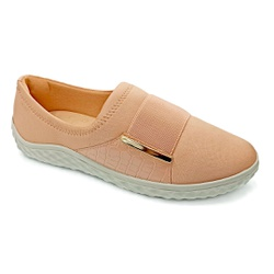 Tênis Feminino Confortável para Esporão - Choco Shake - PR421055CS - Pé Relax Sapatos Confortáveis