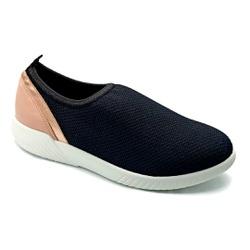Tênis Feminino Confortável para Esporão de Calcâneo - Ipanema Preto - PR633018PC - Pé Relax Sapatos Confortáveis