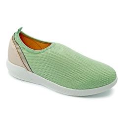 Tênis Feminino Confortável para Esporão de Calcâneo - Verde - PR633018VE - Pé Relax Sapatos Confortáveis