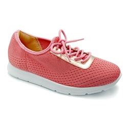 Tênis Feminino Confortável para Esporão e Fascite - Pink - PR698003PI - Pé Relax Sapatos Confortáveis