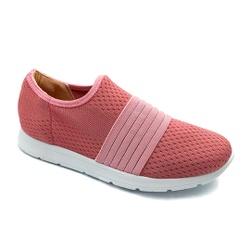 Tênis Feminino Confortável para Esporão e Fascite - Pink - PR698004PI - Pé Relax Sapatos Confortáveis