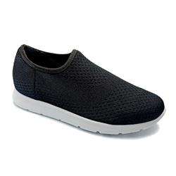Tênis Feminino Confortável para Fascite e Esporão - Preto - PR698005PR - Pé Relax Sapatos Confortáveis