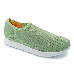 Tênis Feminino Confortável para Fascite e Esporão - Verde - PR698005VE - Pé Relax Sapatos Confortáveis
