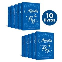 10 Livros de bolso Minutos de Paz - cód. 29 - Presente Cristão