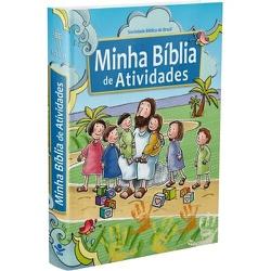 Minha bíblia de atvidades - Cód:36 - Presente Cristão