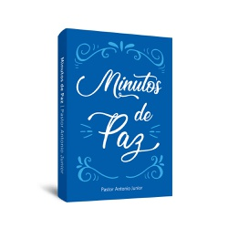 Livro de bolso Minutos de Paz - cód. 28 - Presente Cristão