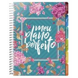 Meu Plano Perfeito   Capa Flores   Planner Permane... - Presente Cristão