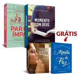 Leve 4 Pague 3 (Momento com Deus + Par ou Ímpar + ... - Presente Cristão