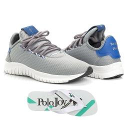 Kit Tênis Masculino Polo Joy Sport Com Chinelo Cin... - Prime Store Calçados