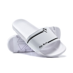 Chinelo Masculino Polo North Slide Branco - PN10BC - Prime Store Calçados