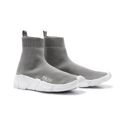 Tênis Meia Polo Joy Socks Cinza - 3010CZA - Prime Store Calçados