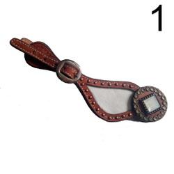 Correia Espora Personalizada Adulto - Couro 15 - 1... - PROTEC HORSE - A LOJA DOS GRANDES CAMPEÕES