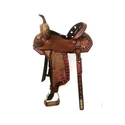 Sela de Couro Tambor - 60 Forma Protec Horse - 127... - PROTEC HORSE - A LOJA DOS GRANDES CAMPEÕES