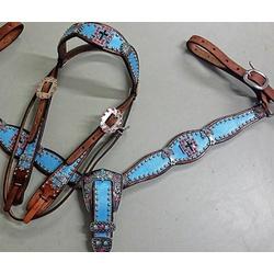 Conjunto Cabecada e Peiteira - Master Saddles 14 -... - PROTEC HORSE - A LOJA DOS GRANDES CAMPEÕES