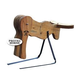 Cavalete para Treino Boots Horse - Boi de madeira ... - PROTEC HORSE - A LOJA DOS GRANDES CAMPEÕES