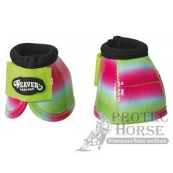 Cloche Weaver Leather Prodigy - 03 Colorido - 1283 - PROTEC HORSE - A LOJA DOS GRANDES CAMPEÕES