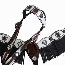 Conjunto Cabecada e Peiteira - Master Saddles 05 -... - PROTEC HORSE - A LOJA DOS GRANDES CAMPEÕES