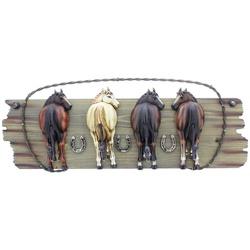 Cabideiro Classic 4 ganchos - cavalos - 15167 - PROTEC HORSE - A LOJA DOS GRANDES CAMPEÕES
