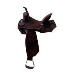 Sela em Neoprene Aba Recortada Protec Horse - Café... - PROTEC HORSE - A LOJA DOS GRANDES CAMPEÕES
