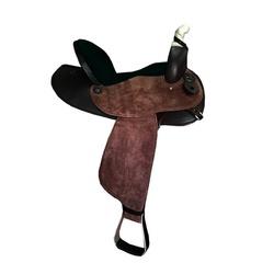 Sela em Neoprene Aba Redonda Master Selas - Marrom... - PROTEC HORSE - A LOJA DOS GRANDES CAMPEÕES