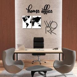 Kit Decoração Home Office + Presente (Palavra de P... - Q! Bacana