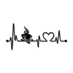 Escultura de Parede Café Amor - Q! Bacana