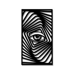 Escultura de Parede Ilusão Olho - Q! Bacana