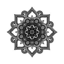 Escultura de Parede Mandala - Q! Bacana