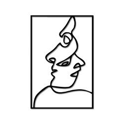 Escultura de Parede Silhueta - Q! Bacana