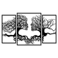 Kit Esculturas de Parede Casal Árvores - Q! Bacana