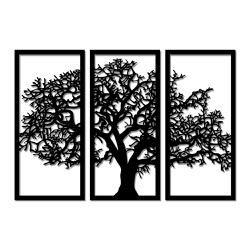 Kit Esculturas de Parede Árvore - Q! Bacana